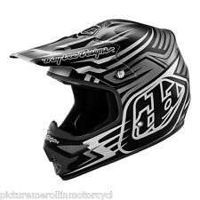 "TROY LEE DESIGNS TLD ""SCRATCH"" AIR MX SX OFF ROAD MOTOCROSS HELMET SIZE S M L XL"