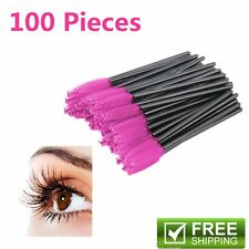 50/100PCS Disposable Eyelash Brush Mascara Wand Extension Applicator Spoolers 5C