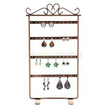Metal Earrings Necklace Chain Jewelry Display Holder Stand Organizer Rack