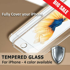 FULL CURVED CLEAR Tempered Glass Screen Protector for Apple iPhone 7 7 Plu