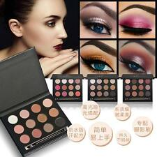 HOT Cosmetic Matte Eyeshadow Eye Shadow Kit Makeup Palette Shimmer Set 12 Colors