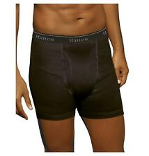 Hanes Classics Men's TAGLESS Stretch Dyed Boxer Briefs with Comfort Flex Hanes