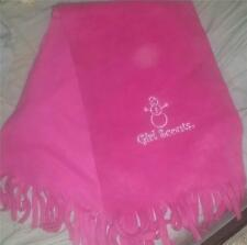 2010 Girl Scout SCARF - PINK Snowman