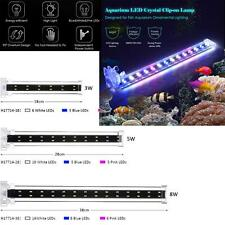 18/28/38cm Aquarium LED Clip-on Lamp LED Tube Light for Fish Tank Aquarium R0A3
