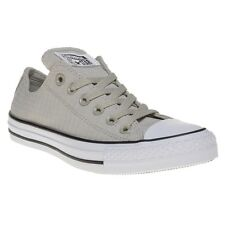 New Boys Converse Natural All Star Ox Canvas Trainers Lace Up