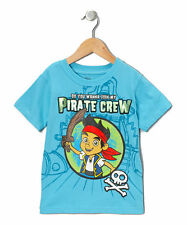 Disney Jake and the Never land pirates Toddler Boys Tee Shirt 2t 3t 4t Turquoise