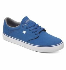 DC - MIKEY TAYLOR VULC TX Skate Shoes (NEW) Mens Sizes 11.5 & 12 BLUE Free Ship!
