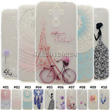 Fashion Pattern Back Soft TPU Rubber Silicone Case Cover Skin For Huawei Moto