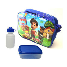 New Paw Patrol Boys Lunch Bag Insulated Tote School Container Kids Storage Box
