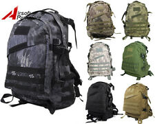Tactical Military Molle Assault Backpack Hiking Camping Outdoor Sport Bag Pack
