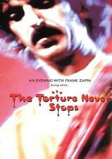 An Evening with Frank Zappa During Which... The Torture Never Stops (DVD, 2010)