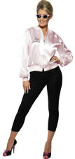 Pink Lady Grease Costume NEW - Ladies Carnival Fancy Dress
