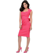 Stop Staring Love Dress in Hot Pink LOVE-03 Pin Up Plus Size NWT