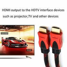 JINCHI 1.5m/3m/5m/10m/15m/20m HDMI Male To HDMI Male HD TV Connection Cable F5