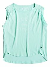 Roxy Girls Break Well Muscle Tee  Sz 10/M ERGZT03172