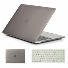 Rubberized Frosted Crystal Hard shell Case +Keyboard cover For Apple Macbook Pro