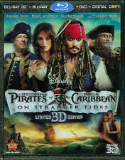 Pirates of the Caribbean: On Stranger Tides-Blu-Ray3D,Blu-Ray,DVD,Digital-NEW