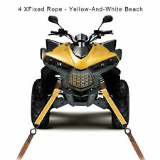 New Bright Color Power Sports US Softie-12 Soft Loop Tie-Down Straps, 4-Pack F5