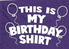 My Birthday Kid Tshirt Toddler Baby Shower Gift Birthday Gift Boy Girl US Size