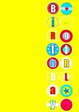 """CHILD """"BIRTHDAY GIRL"""" CELEBRATION ANY AGE YEARS OLD GREETING CARD FREE 1ST P&P!"""