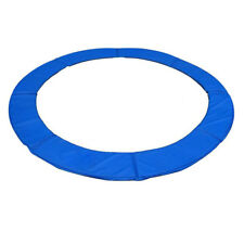 12/14/15 FT Trampoline Safety Pad Spring Round Frame Pad Cover Replacement Blue