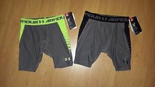 Under Armour Boys' HeatGear Armour Up Fitted Shorts, MSRP  $24.99