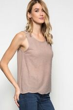 Beaded Silk Chiffon Blouse Top New Beige S M L Career Day to Night Item