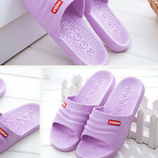 Women Men Flat Slippers Summer Slipper Non-slip Casual Sandals Flip-flops Shoes