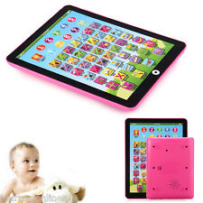 Tablet Pad Computer For Kid Children Learning English Educational Teach Toy Z