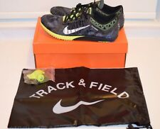 New Nike Zoom Victory XC 3 Cross Country Track Spike Running Shoes Black Volt