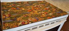 Rooster Themed Glass Stove top / Cook top Cover & Protector