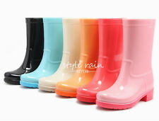 Beautiful Ankle Boots women's rain boots high quality Lace up rainboots Shoes