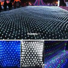 144 LED 2M x 2M 220V Fairy Light Net Decoration Christmas Xmas Party Wedding
