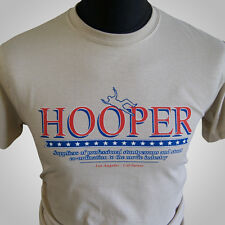 Hooper Retro Movie Themed T Shirt Burt Reynolds Stuntman Trans Am 1978 Sand