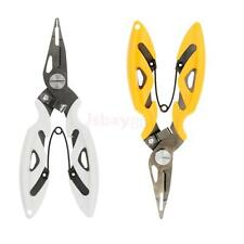 Fishing Pliers Split Ring Scissors Wire Line Cutter Hook Removers Stainless