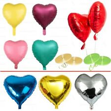 "32"" inch LOVE HEART FOIL BALLOON. WEDDING VALENTINES BIRTHDAY PARTY BALOONS NEW"