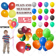 Latex LARGE 10 -100 Helium Balloons Birthday ,Party High Quality Baloons Wedding