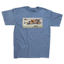 The Beatles Anthology T-shirt  Steel Blue Officially Licensed  New