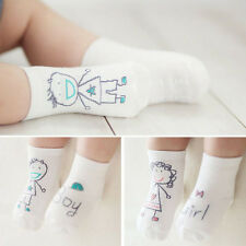 New Baby Newborn Infant Boy Girl Toddler Asymmetry Anti-Slip Floor Cotton Socks