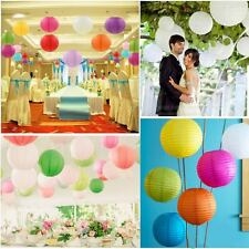 Chinese Paper Lantern 10'' for wedding and party decorations Pack of 8