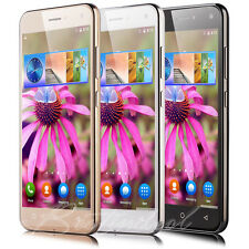 """Touch Quad Core Android 5.1 Smartphone 3G Unlocked 5"""" Mobile Phone Dual SIM GPS"""