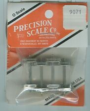 Precision Scale On3 #9071 Brass Wheel Sets New