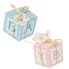 12x Lovely Candy Sweets Gift Boxes Girl Boy Baby Shower Favor Birthday