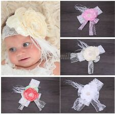 Baby Girl Toddler Cute Lace Flower Hair Band Headwear Kids Headband Accessories