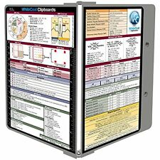 WhiteCoat Clipboard - Sports Silver Medical Edition