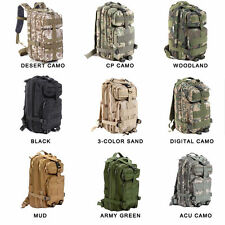 HOTHiking Camping Bag Army Military Tactical Trekking Rucksack Backpack Camo 30L