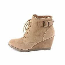 Madden Girl Women's Dailey Wedge Ankle Boots