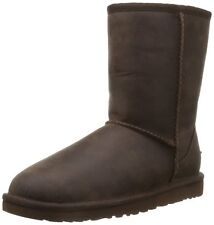UGG Australia Womens Classic Short Leather Boot, BROWNSTONE NEW NIB