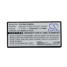 Replacement Battery For DELL 0NU209