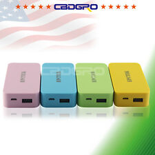 2600mAh Power Bank Charge 5 color Backup External Battery for Galaxy S4 S6 A8